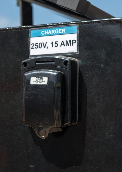 240v Charging socket